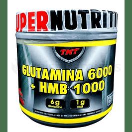 Glutamina 6000 mas HMB 1000 TNT