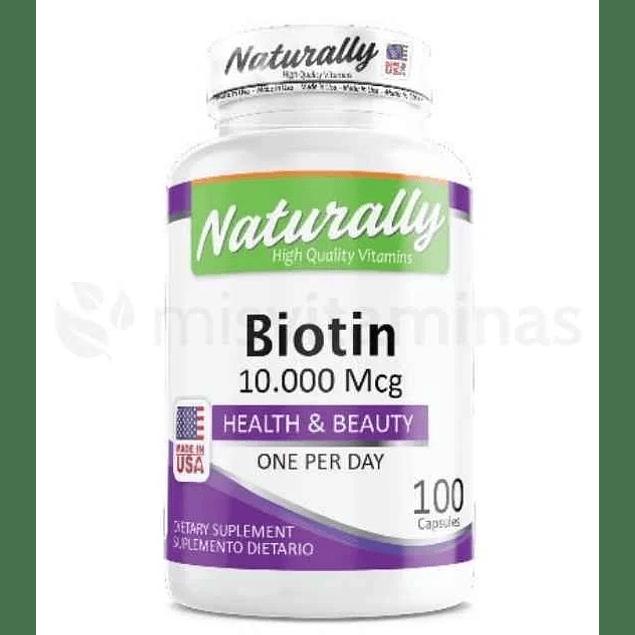 Biotin 10000 mcg Naturally