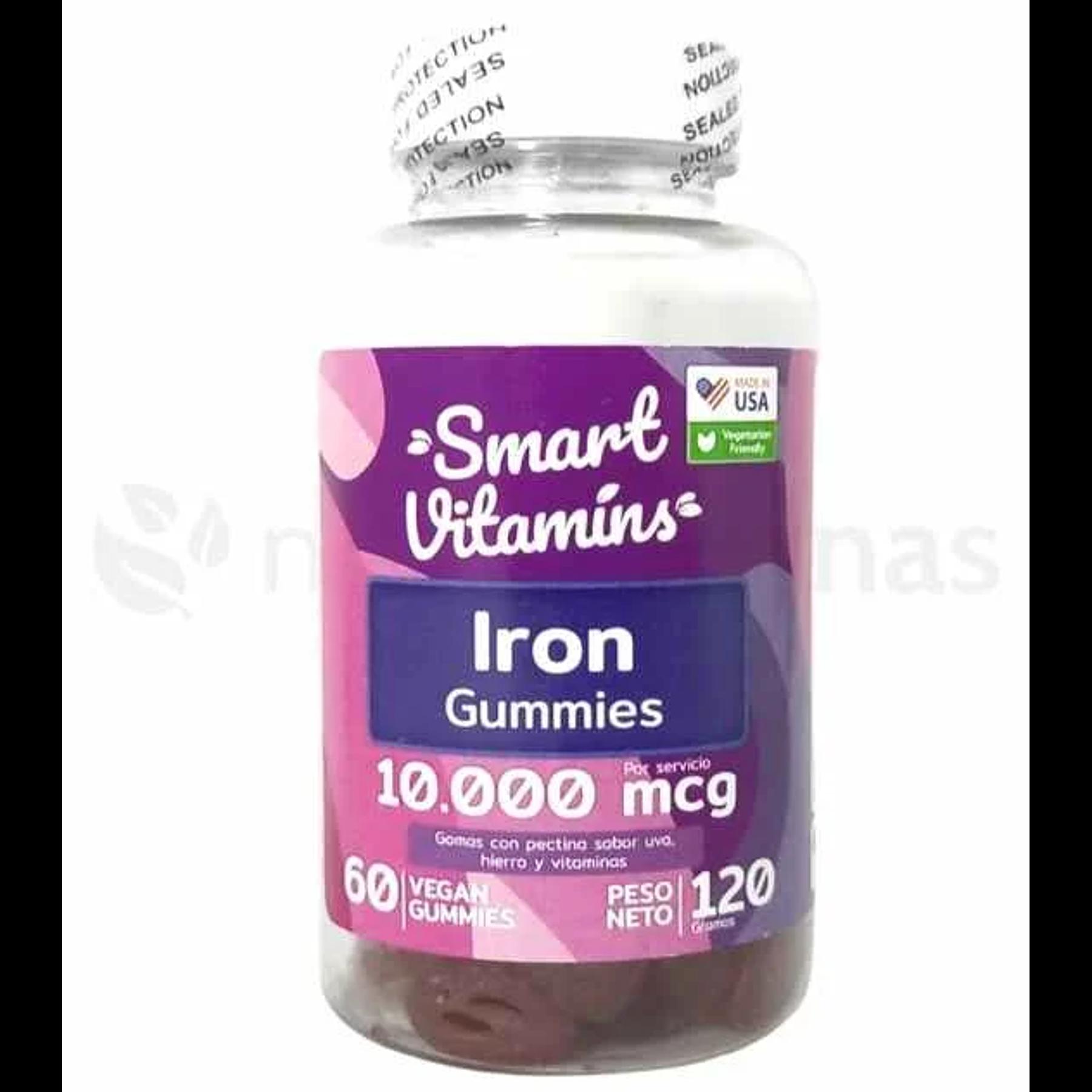Iron 10000 mcg  Smart Vitamins