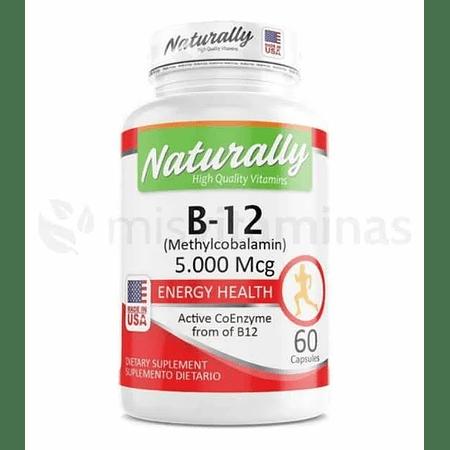 b12 5000 mcg Methylcobalamina Naturally