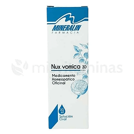 Nux Vomica 3D Homeopatico Mineralin