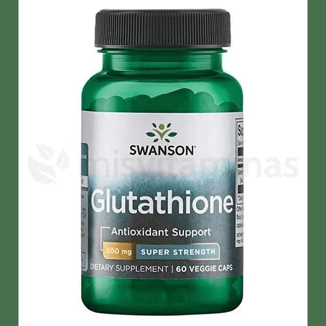 Glutathione Antioxidante 200 mg Swanson