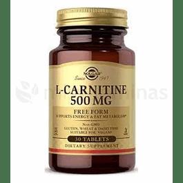 L Carnitina Solgar 500 mg Free Form
