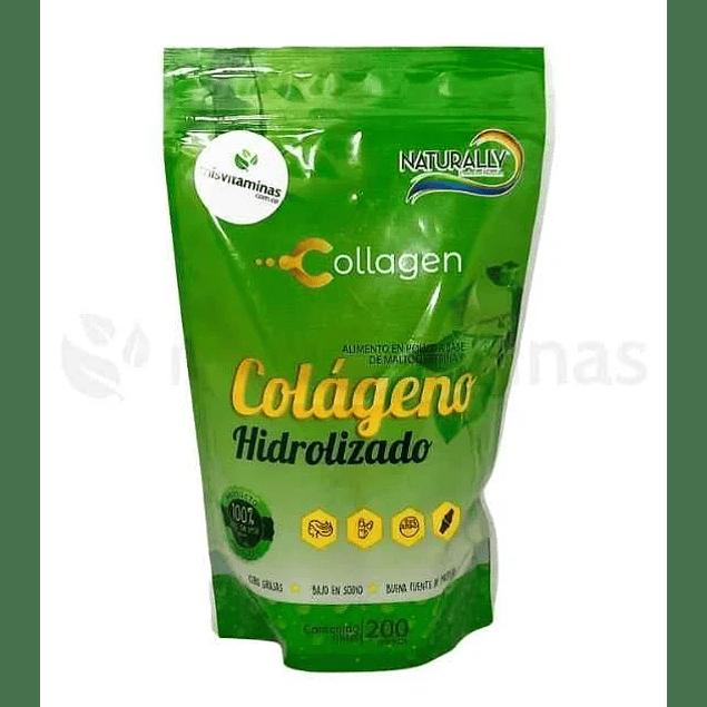 Colageno Hidrolizado 200 gramos Naturally
