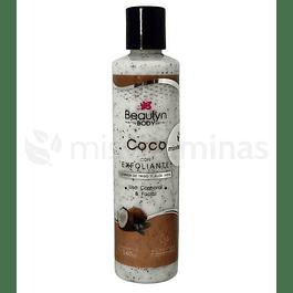 Exfoliante de Coco Beaulyn 240 gramos
