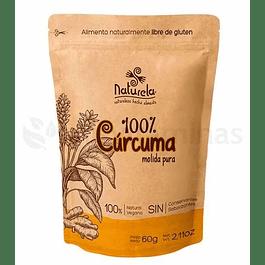 Curcuma 100 % Natural Molida Pura Naturela