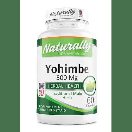 Yohimbe 500 Mg Naturally