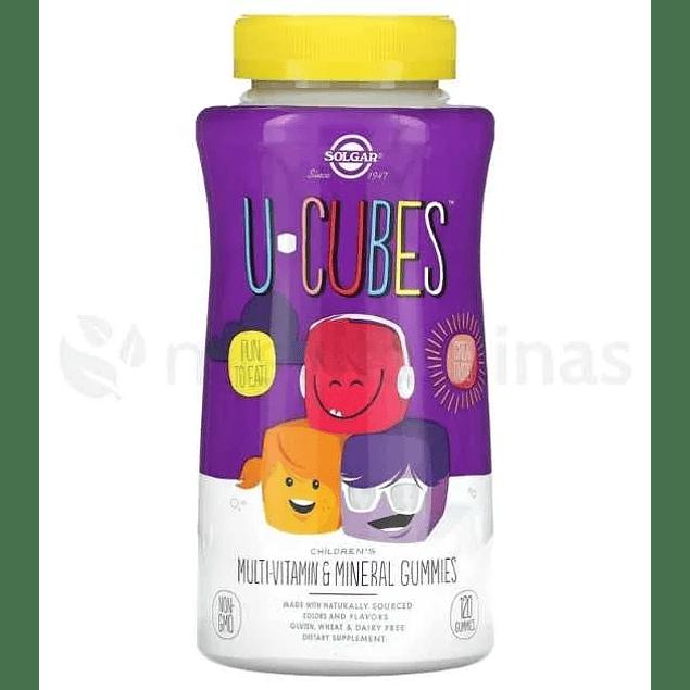 U Cubes Gomas Multivitaminicas Niños Solgar