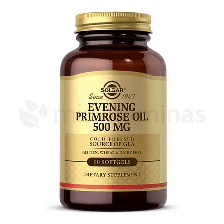 Evening Primrose Oil 500 mg Solgar Onagra