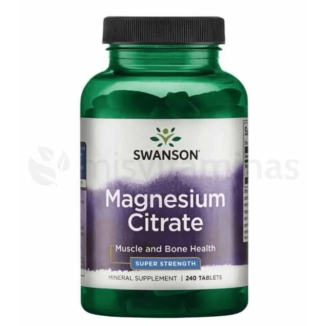 Magnesium Citrate Swanson 225 mg
