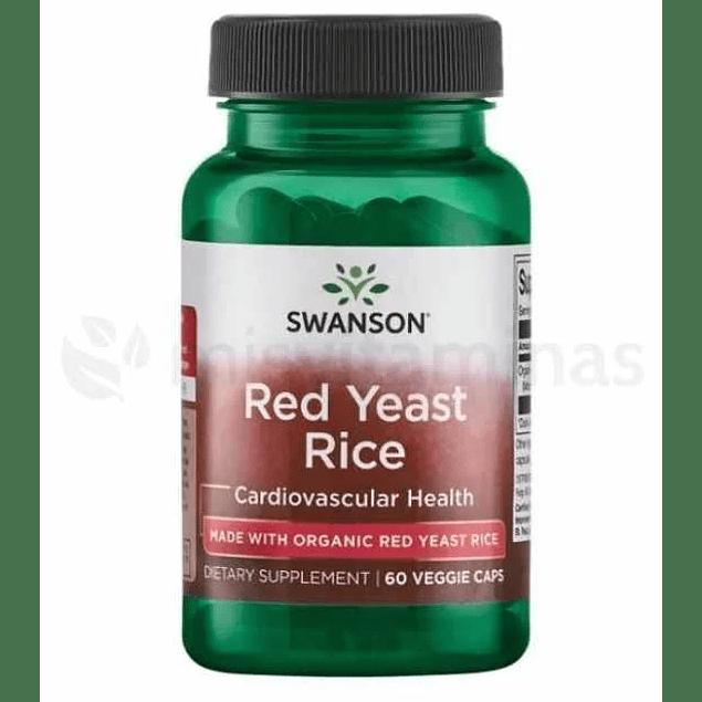 Red Yeast Rice Swanson 600 mg
