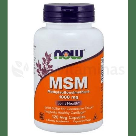 MSM Methylsulfonylmethane 1000 mg Now