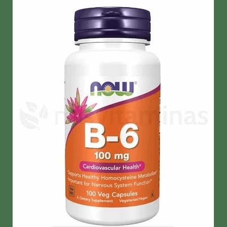 B6 100 mg Cadiovascular Health Now