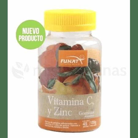 Vitamina C con Zinc en gomas Funat