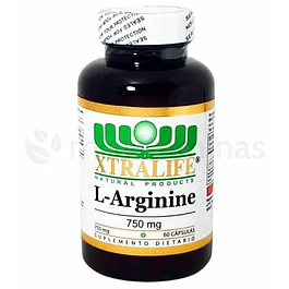 L Arginine 750 mg Xtralife