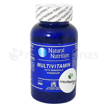 Multivitamin With Minerals Natural Nutrition