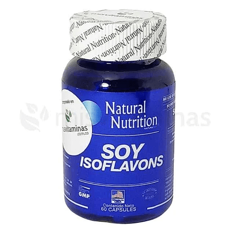 Soy Isoflavons Natural Nutrition