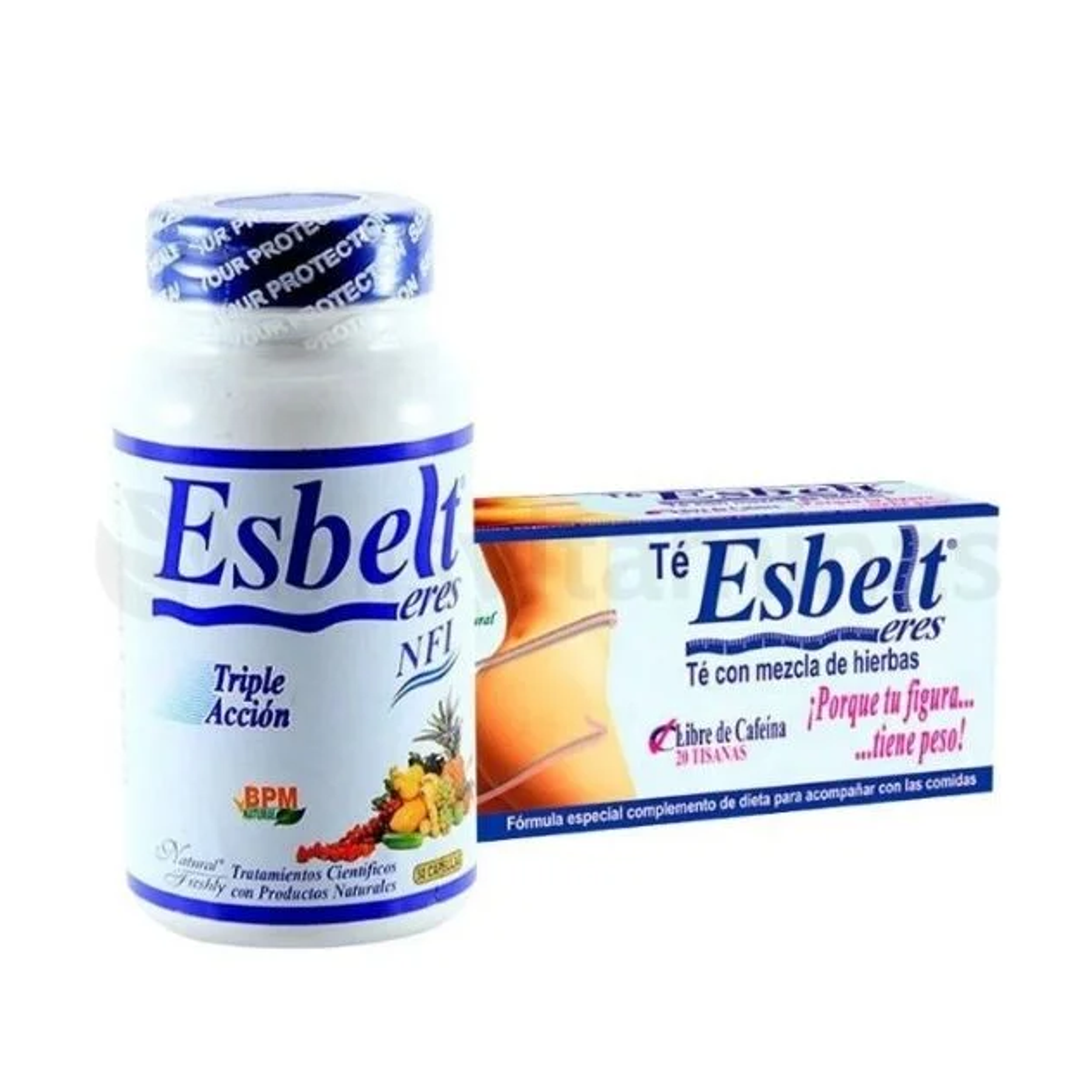 Combo Esbelt Capsulas y Té Natural Freshly