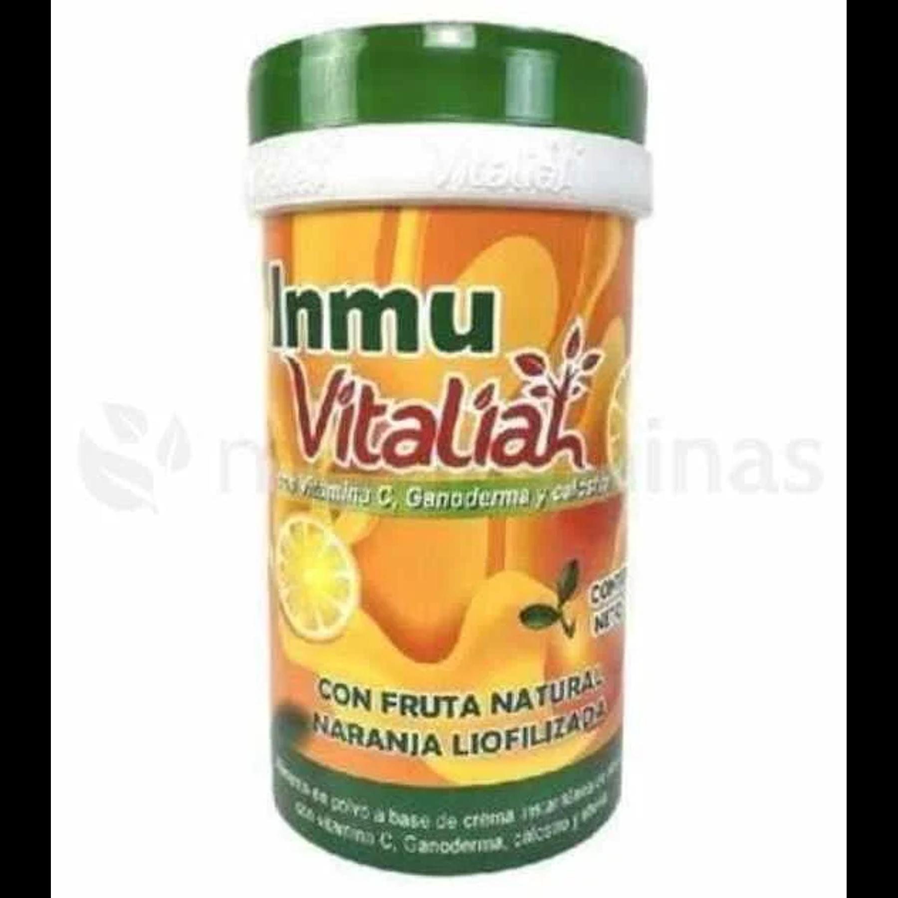 Inmu Vitaliah con Vitamina C Ganoderma y Calostro