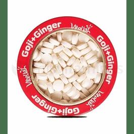 Goji mas Ginger Pastillas Masticables Vitaliah
