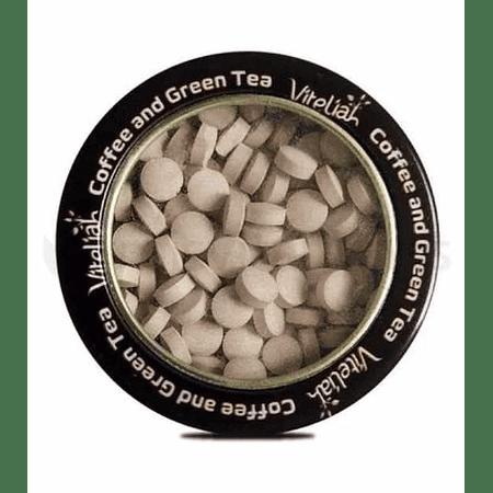 Coffee and Green Tea Pastillas Masticables Vitaliah