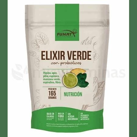 Elixir Verde Con Probioticos Funat