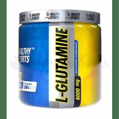 Glutamina 240 gramos Healthy Sports