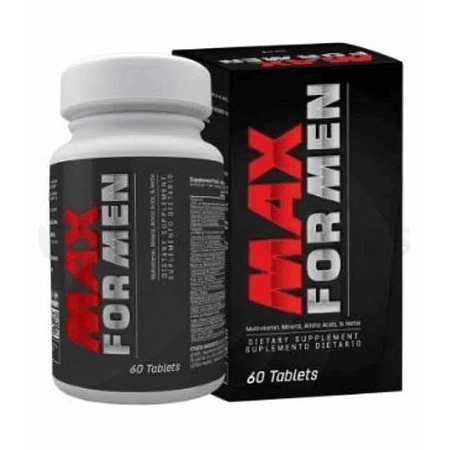 Max For Men Healthy America 60 Tabletas