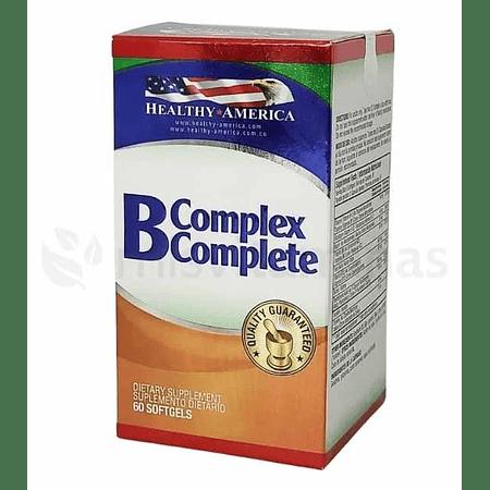 B 50 complex Complete 60 Softgels Healthy America