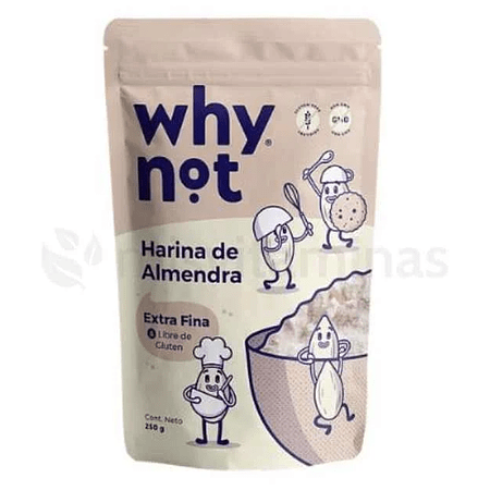 Harina de Almendras Why Not 250 gramos