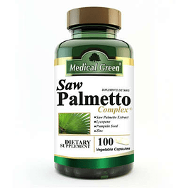 Saw Palmeto Complex 100 capsulas Medical Green