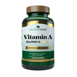 Vitamin A 10000IU plus 100 softgel