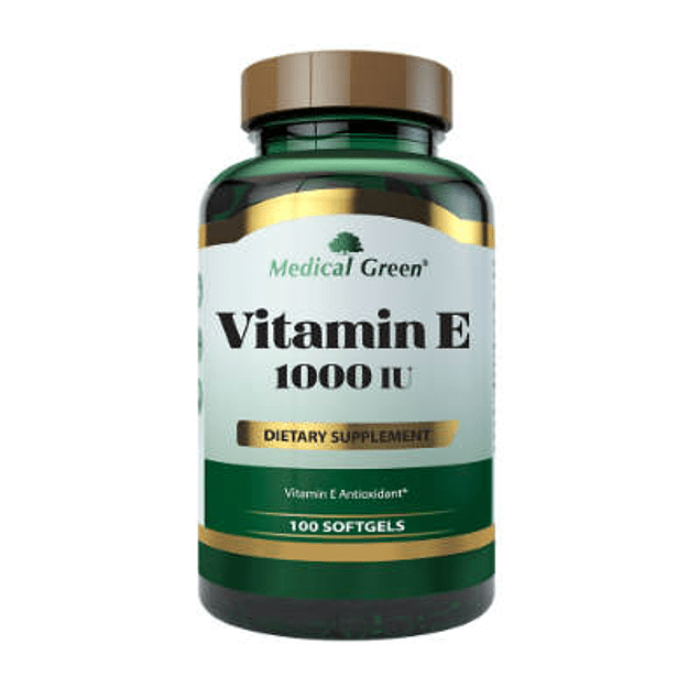 Vitamin E 1000 IU 100 Softgel  Medical Green