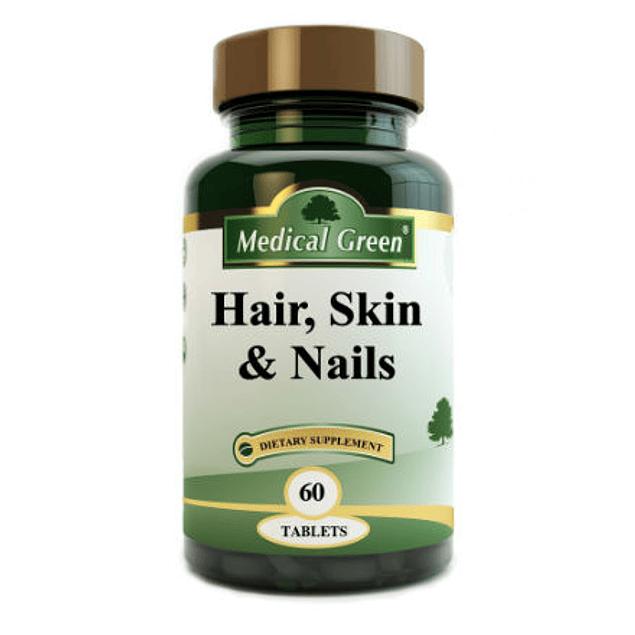 Hair Skin and Nails 60 tabletas