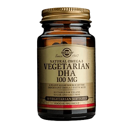 Nautral Omega 3 Vegetarin DHA 100 mg 30 softgels Solgar