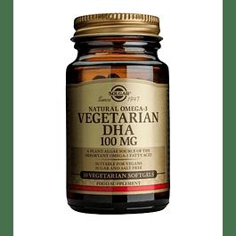 Nautral Omega 3 Vegetarin DHA 100 mg 30 softgels Solgar