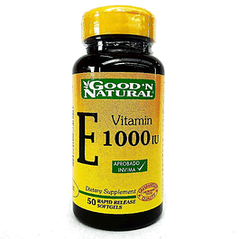 Vitamin E 1000 IU 50 Softgel