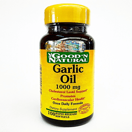 Garlic Oil 1000 mg 100 Softgel Good´N Natural Ajo