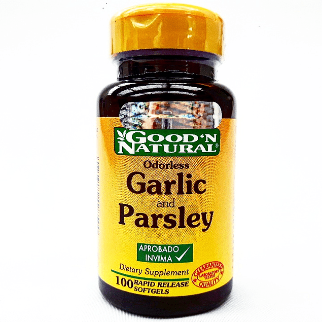 Garlic and Parsley  100 softgels Good´N Natural