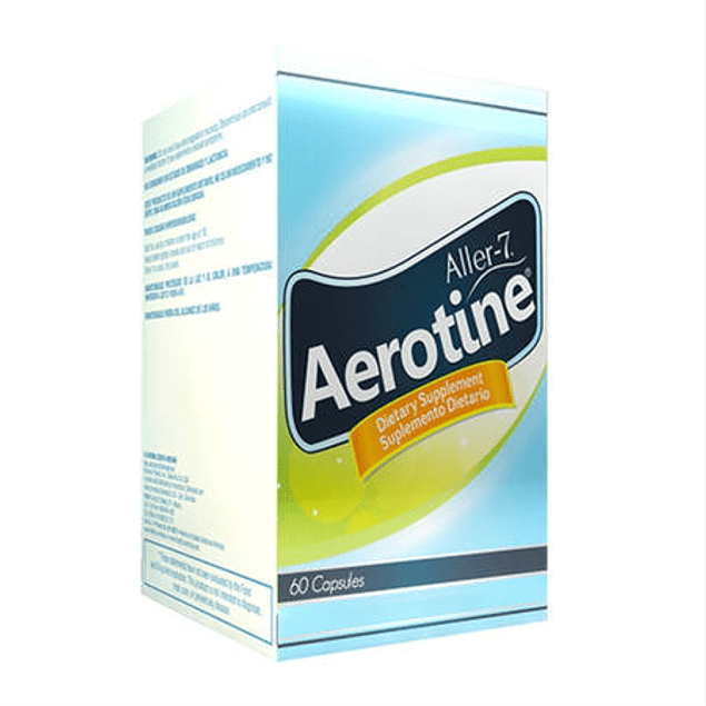 Aerotine 60 capsulas Healthy America