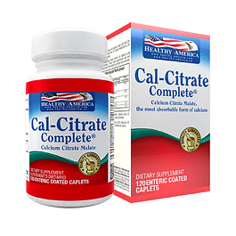 Cal-Citrate Complete 120 Caplets Healthy America