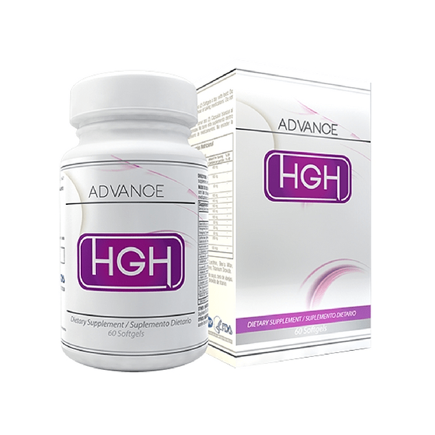 HGH advance 60 softgels Healthy America