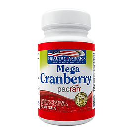 Mega Cramberry 60 softgels Healthy America