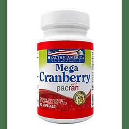 Mega Cranberry 60 softgels Healthy America
