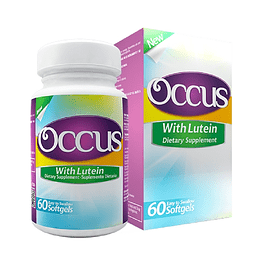Occus with Lutein 60 Softgels Healthy America