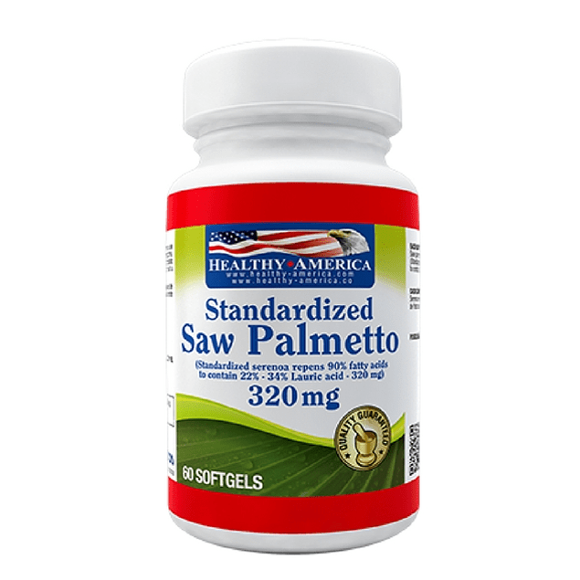 Saw Palmeto 320mg 60 softgels Healthy America