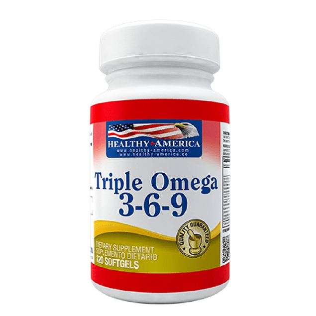 Triple Omega 3-6-9 120 softgel Healthy America