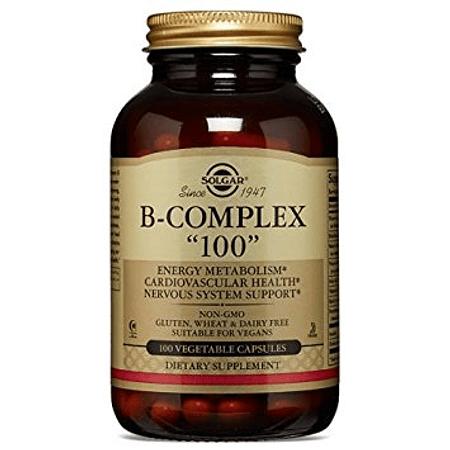 "B Complex ""100""  Solgar"