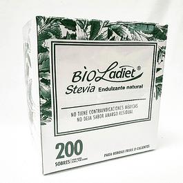 Bio Ladiet Stevia 200 Sobres x 0,66 g