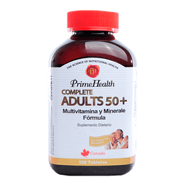 Complete Adults 50+ 100 Tabletas (Multivitaminico)